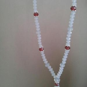 padparadscha satin moonstone necklace